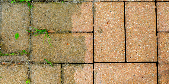 Cleaning Pavers2