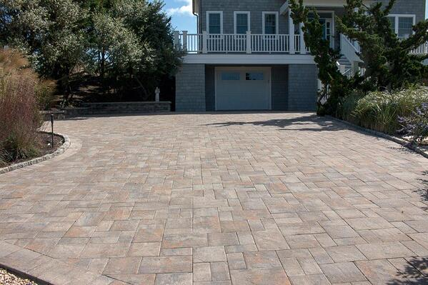 Concrete driveway pavers are the best hardscape option available.