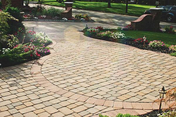 concrete driveway pavers will make your house look beautiful.