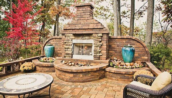Nicolock stones makes for the perfect outdoor entertaining spaces.