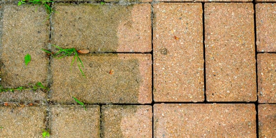 Cleaning Patio Pavers