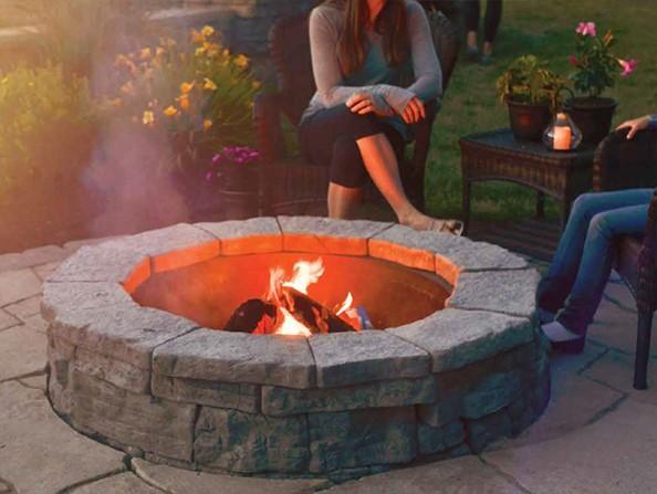 nicolock belvedere fire pit