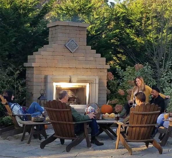 nicolock verona fireplace